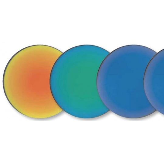 Mirror Coated Lenses - non polarised