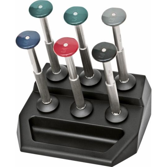 Standard Screwdriver Set in Plastic Stand