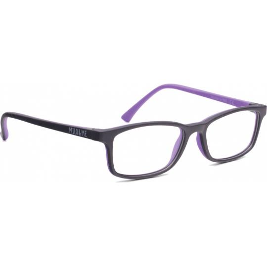 Black / Light lilac