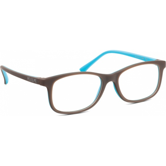 Brown / Light turquoise