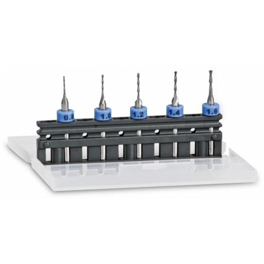 Drill-Miller Set for Plastic Lenses