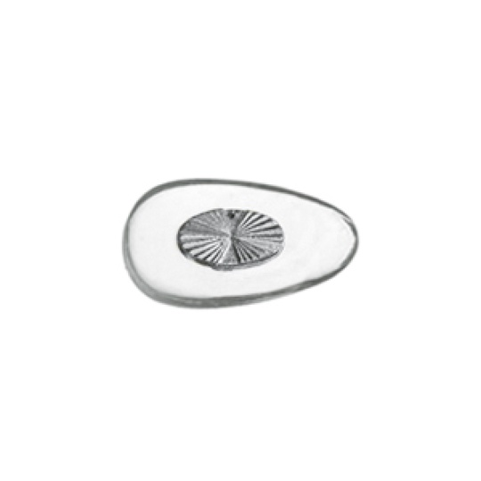 PVC Nose Pad with Metal Insert 15mm