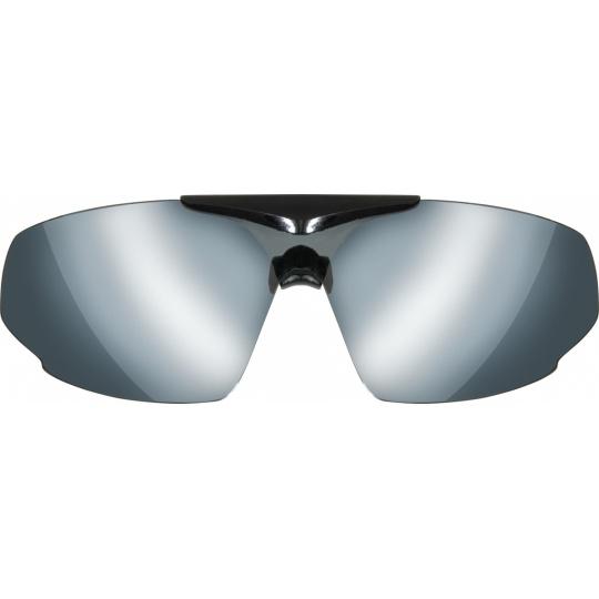 Grey (80-85% tint), silver mirror coating