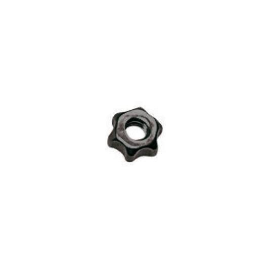 1.3 x 2.5mm Star Nut, silver or gunmetal - 100pcs