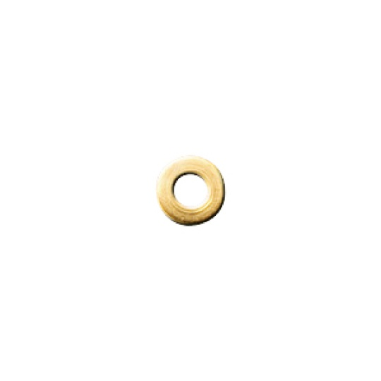 1.5 x 2.5mm silver or gold - 100pcs