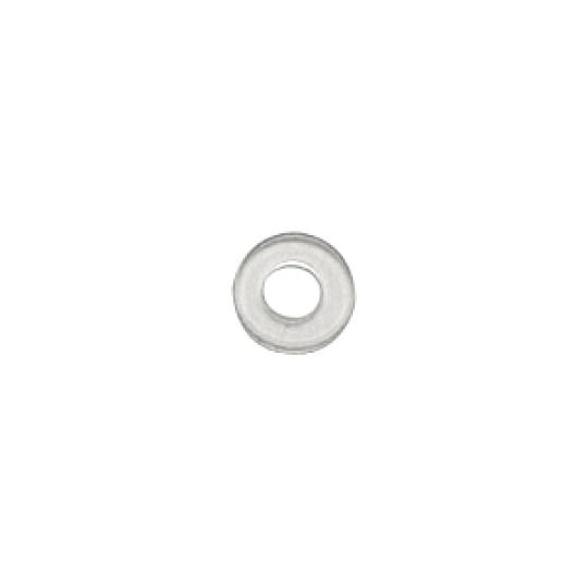 1.6 x 3.0mm Transparent Plastic - 150pcs