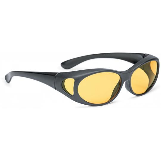 Matt black, (yellow 25%)