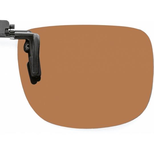 Brown (80-85% tint), polarised