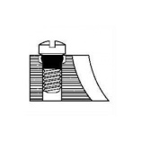 1.4mm Slot Head Screw with 4 length options - 100pcs
