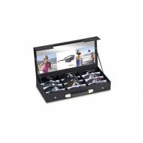 Assortment of Sports Frames in Presentation Case