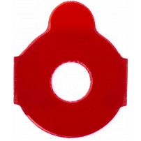 B&S Pads for Hydrophobic lenses - 24mm, Red