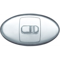 PVC Nose Pads with plastic insert - screw fit