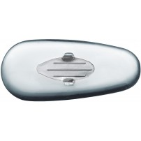 Rayban Style Pads - Silicone, Silver Insert 10 pieces