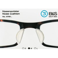 Self-adhesive Nose Pad Cushions available in 3 sizes - 10 pairs