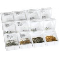 Rimless Screw, Nut & Washer Assortment - 1,300pcs