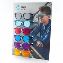6 pc display for children's sunglasses