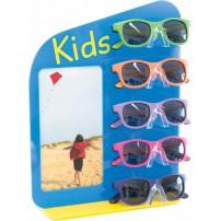 Acrylic display for 5 kids frames