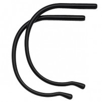 Sports Temple End without Silicone Coating (1 pair)