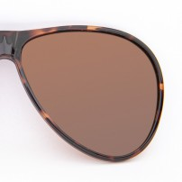 With frame in aviator shape