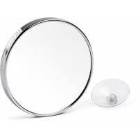 Mirror with suction cups