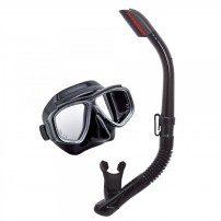 Tusa UC-7519P Snorkeling Set available with or without prescription lenses