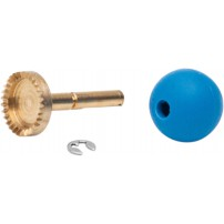 Oculus UB-4 bevel wheel with ball for height adjustment